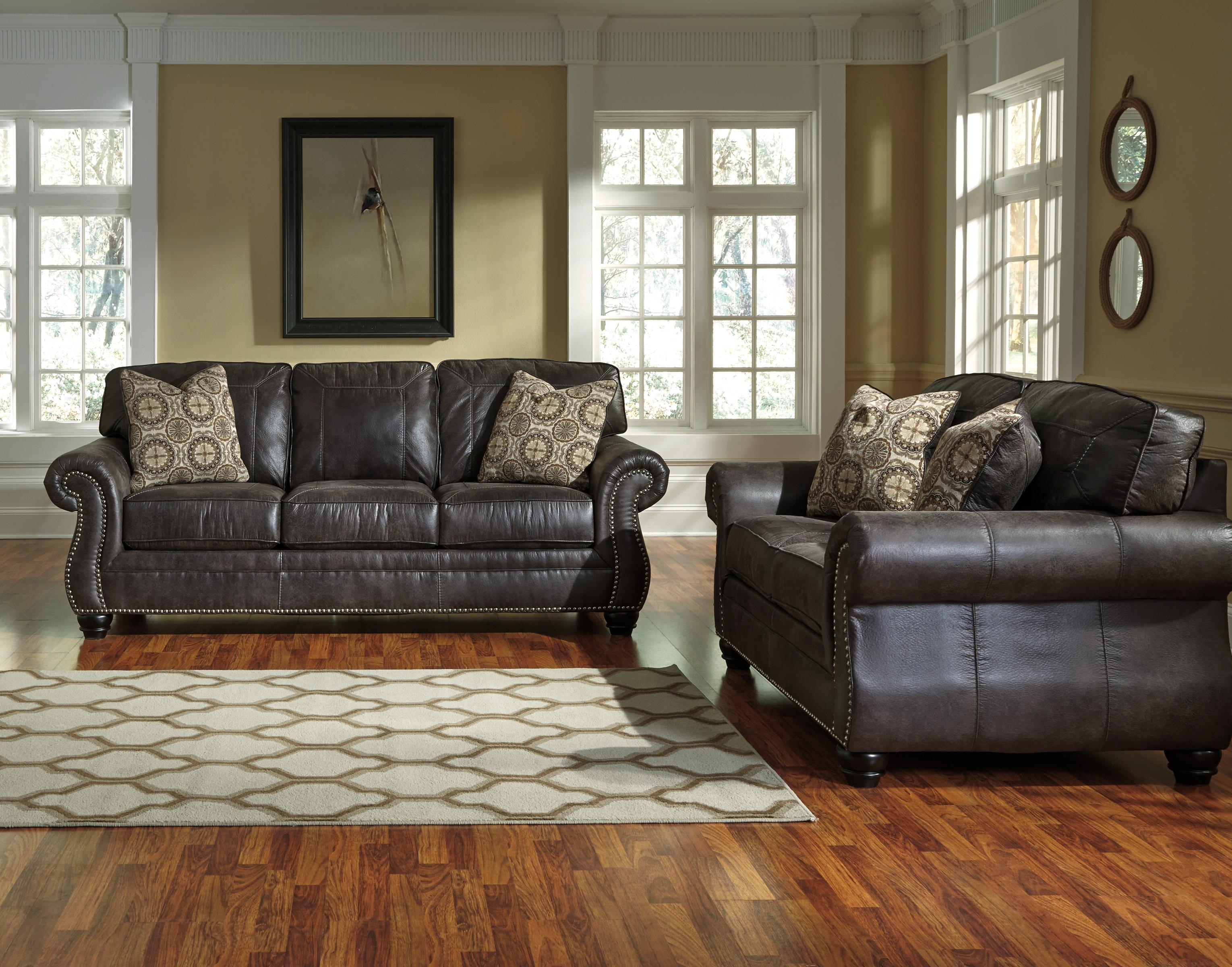 Breville Stationary Living Room Group by Benchcraft at Miller Waldrop Furniture and Decor