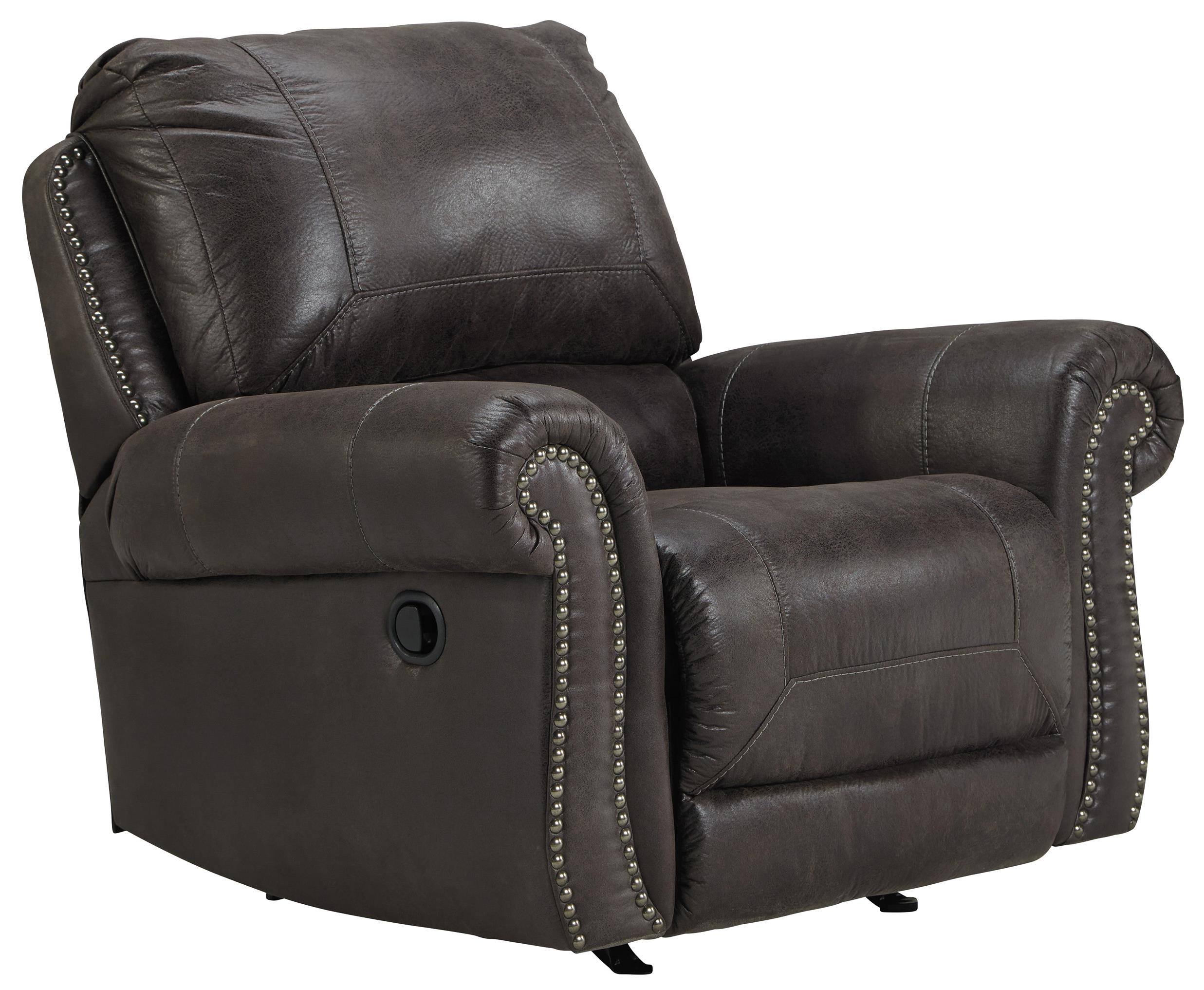 Benchcraft Breville Rocker Recliner - Item Number: 8000425