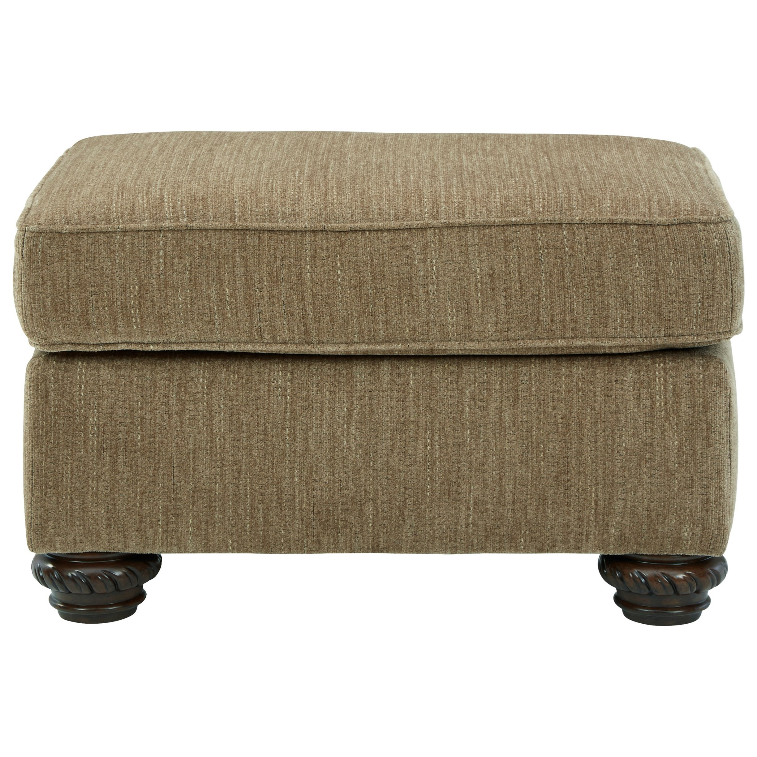 Briaroaks Ottoman by Benchcraft at Miller Waldrop Furniture and Decor