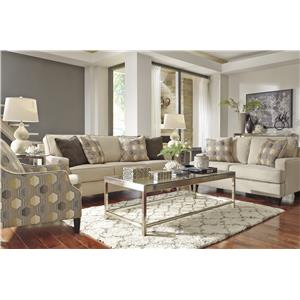 Benchcraft Brielyn Stationary Living Room Group