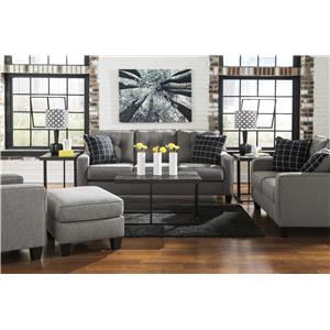 Ashley Brindon Stationary Living Room Group