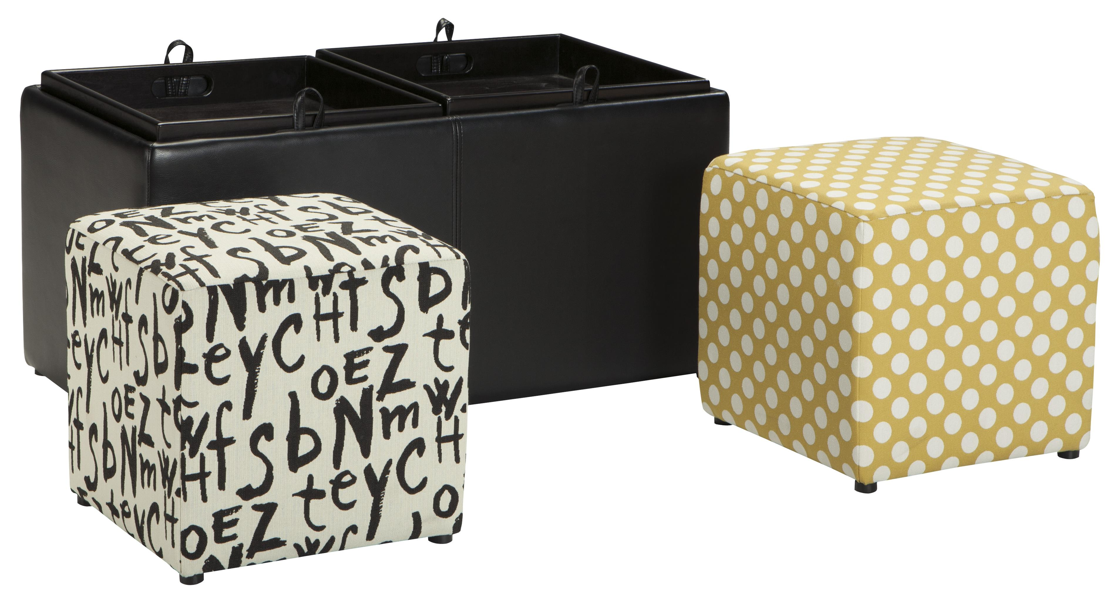 Ashley/Benchcraft Brindon Ottoman With Storage - Item Number: 5390111
