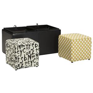 Ashley Brindon Ottoman With Storage