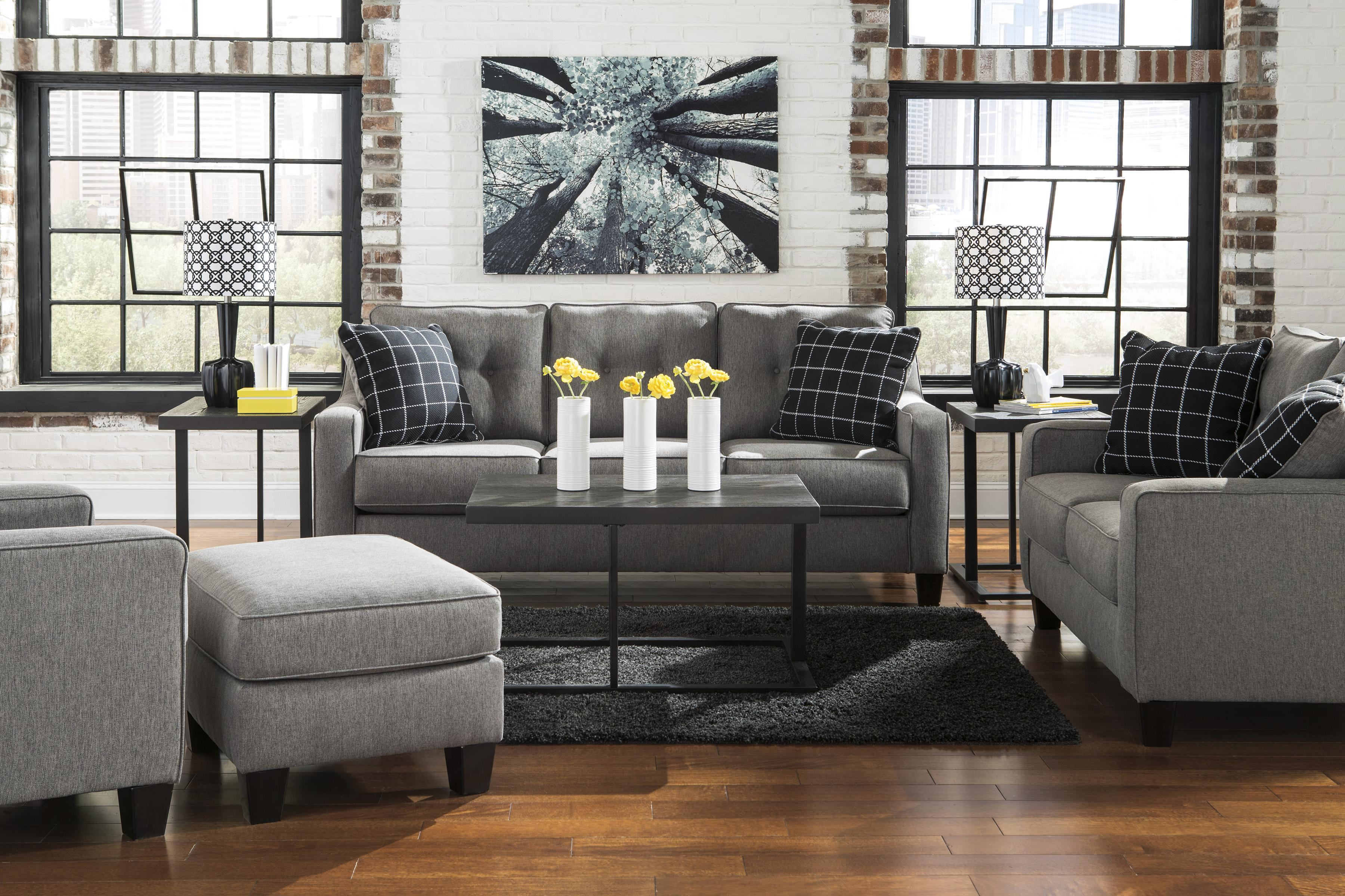 Benchcraft Brindon Contemporary Queen Sofa Sleeper With