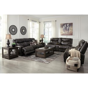 Benchcraft Brinlack Reclining Living Room Group