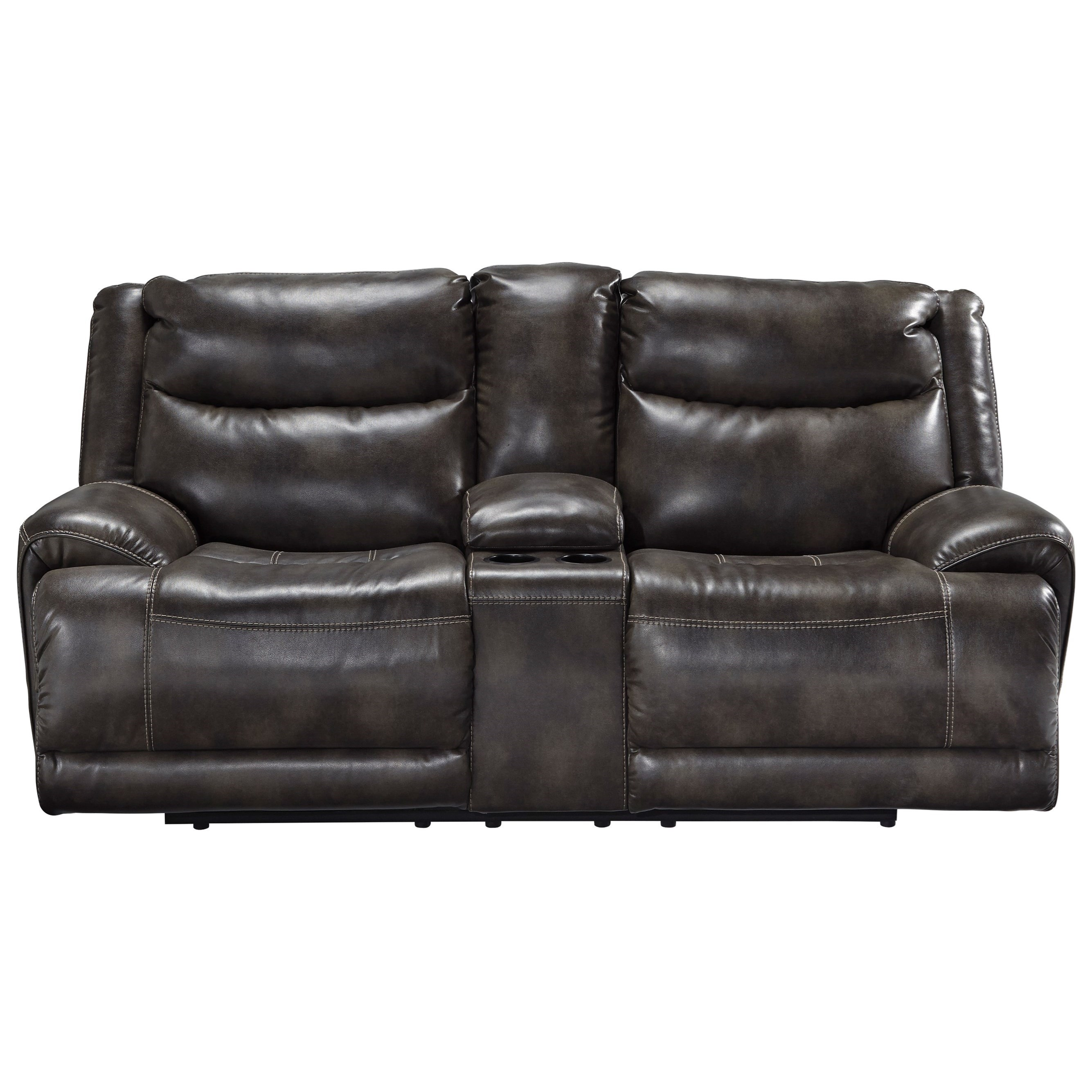 Benchcraft Brinlack Power Reclining Loveseat - Item Number: 8560218