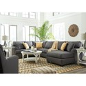 Benchcraft Brioni Nuvella Stationary Living Room Group - Item Number: 62302 Living Room Group 9
