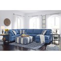 Benchcraft Brioni Nuvella Stationary Living Room Group - Item Number: 62303 Living Room Group 1