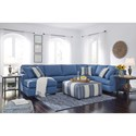 Benchcraft Brioni Nuvella Stationary Living Room Group - Item Number: 62303 Living Room Group 2