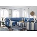 Benchcraft Brioni Nuvella Stationary Living Room Group - Item Number: 62303 Living Room Group 4