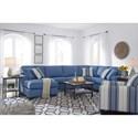 Benchcraft Brioni Nuvella Stationary Living Room Group - Item Number: 62303 Living Room Group 8