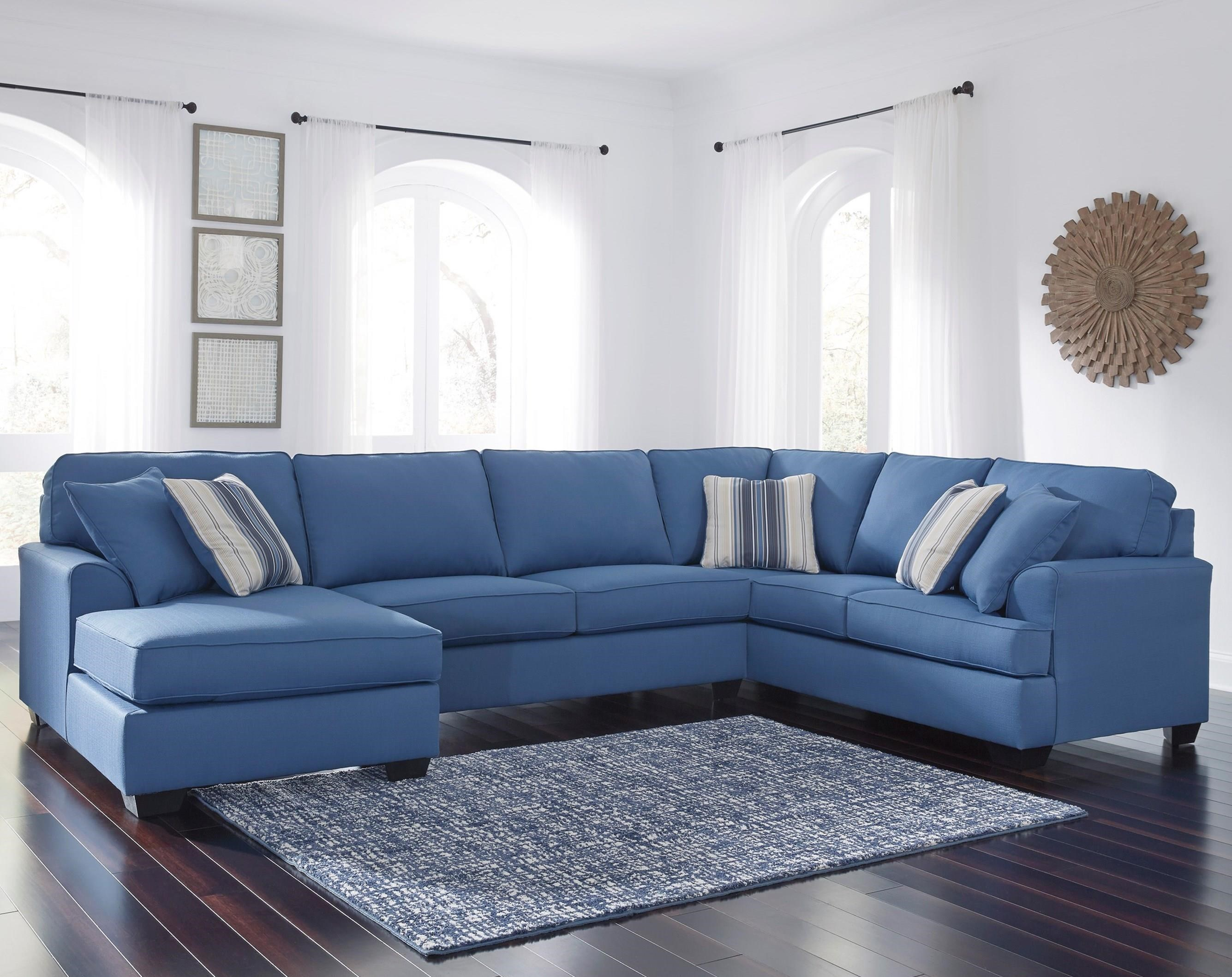 also sectional ideas royal navy chaise lovely with of beautiful blue couches and sofa
