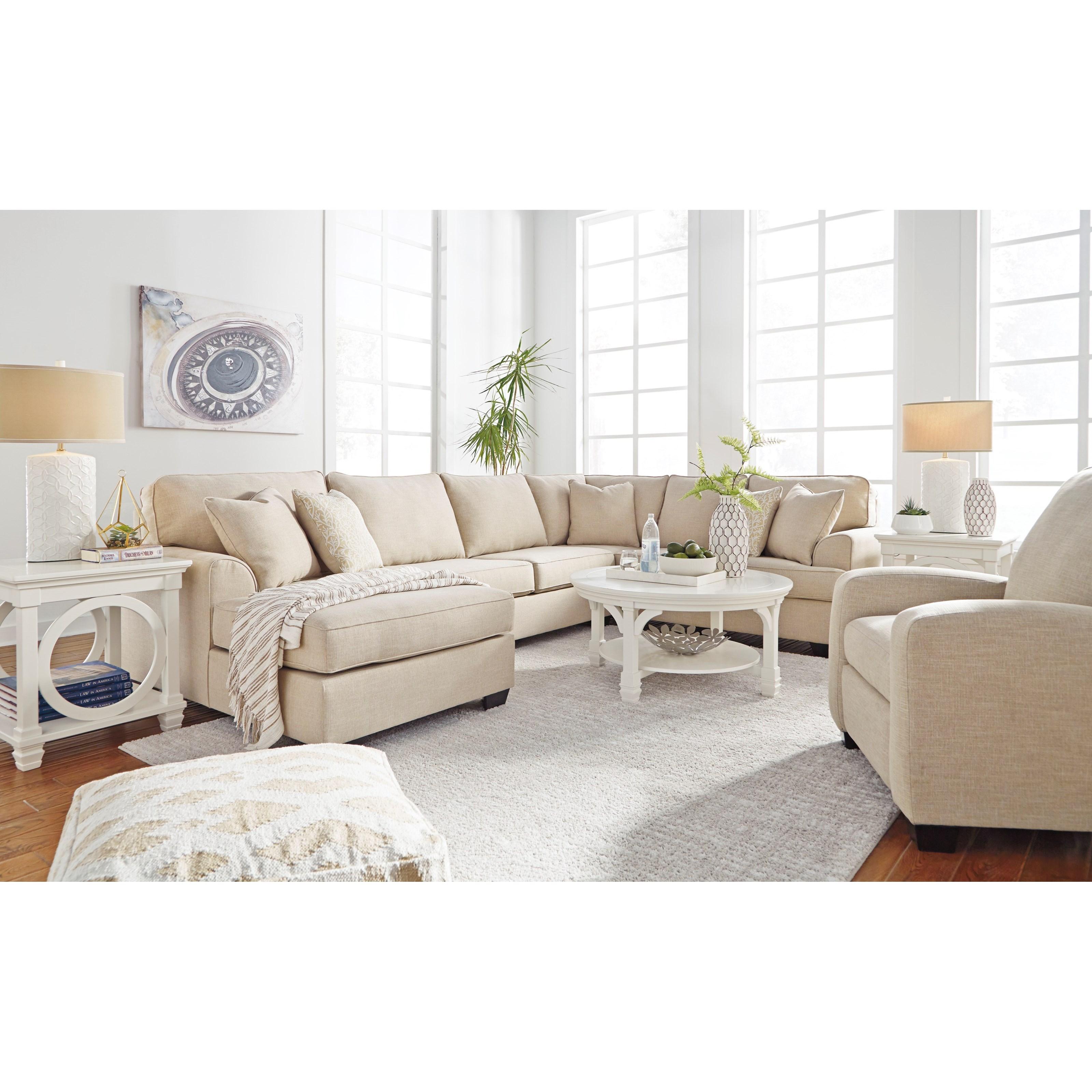 Benchcraft Brioni Nuvella Stationary Living Room Group - Item Number: 62305 Living Room Group 10