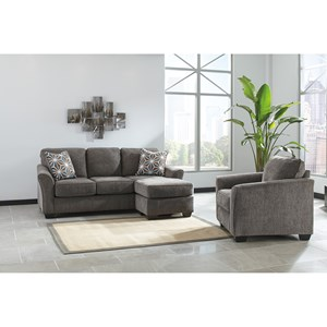 Benchcraft Brise Stationary Living Room Group