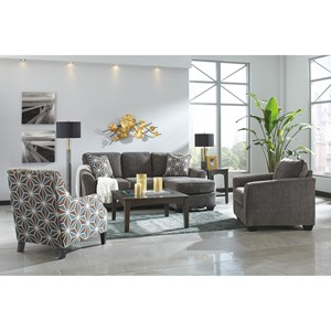 Ashley Brise Stationary Living Room Group