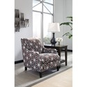 Benchcraft Brise Contemporary Accent Chair in Geometric Fabric