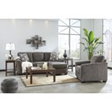 Benchcraft By Ashley Brise Casual Contemporary Queen Sofa