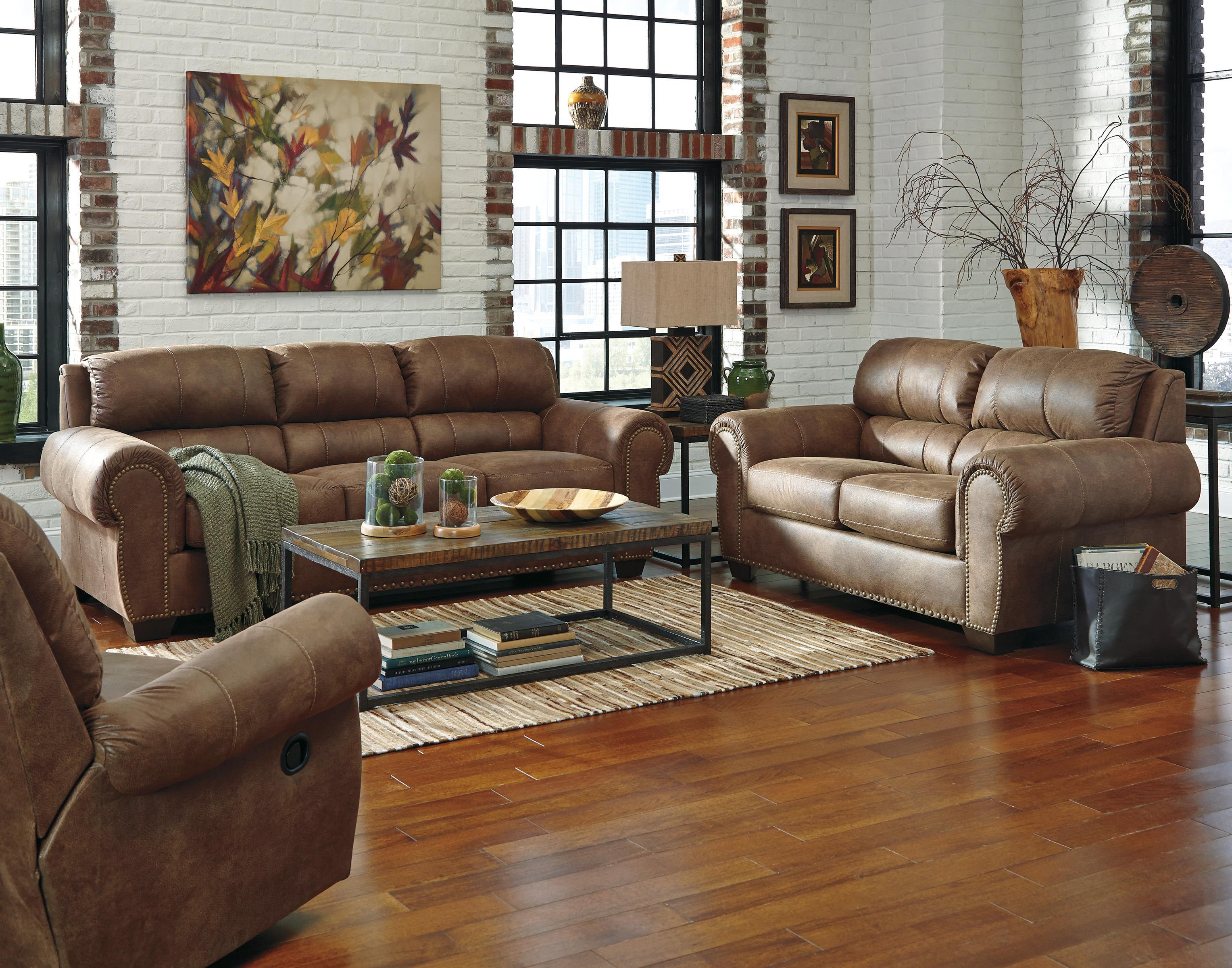 Benchcraft Burnsville Stationary Living Room Group - Item Number: 97206 Living Room Group 2