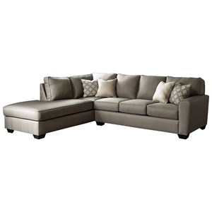 Benchcraft Calicho Sectional with Left Chaise