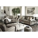 Benchcraft Calicho Contemporary Queen Sofa Sleeper