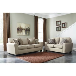 Benchcraft Calicho Contemporary Loveseat Wayside Furniture Love