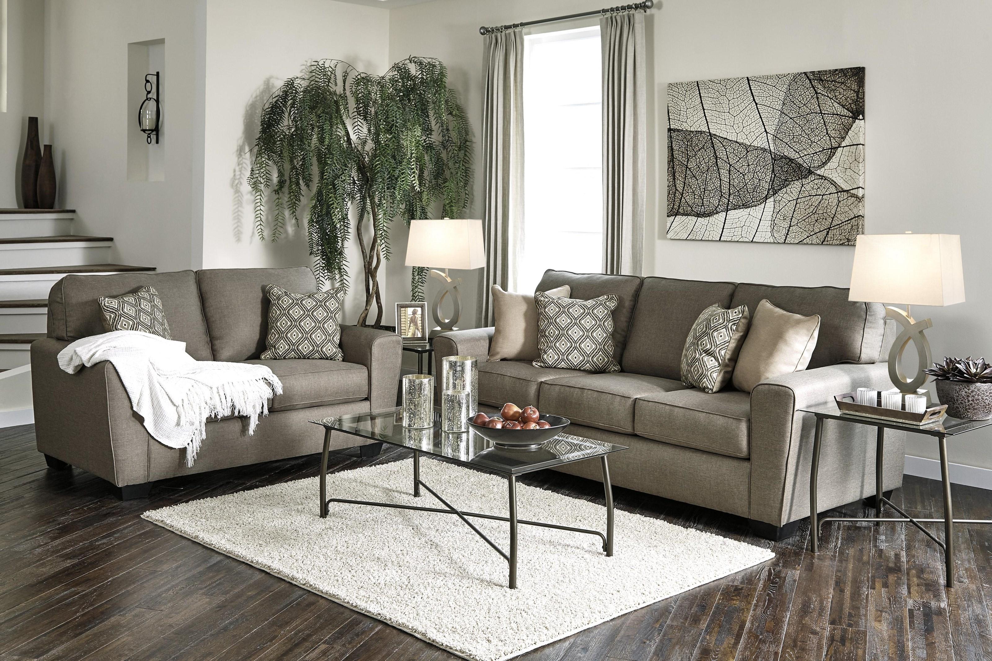 Benchcraft calicho calicho 8 pc lr 8 piece living room set - 8 piece living room furniture set ...