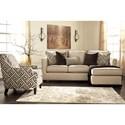 Benchcraft Carlinworth Stationary Living Room Group - Item Number: 84401 Living Room Group 1