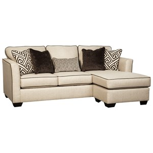 Benchcraft Carlinworth Queen Sofa Chaise Sleeper