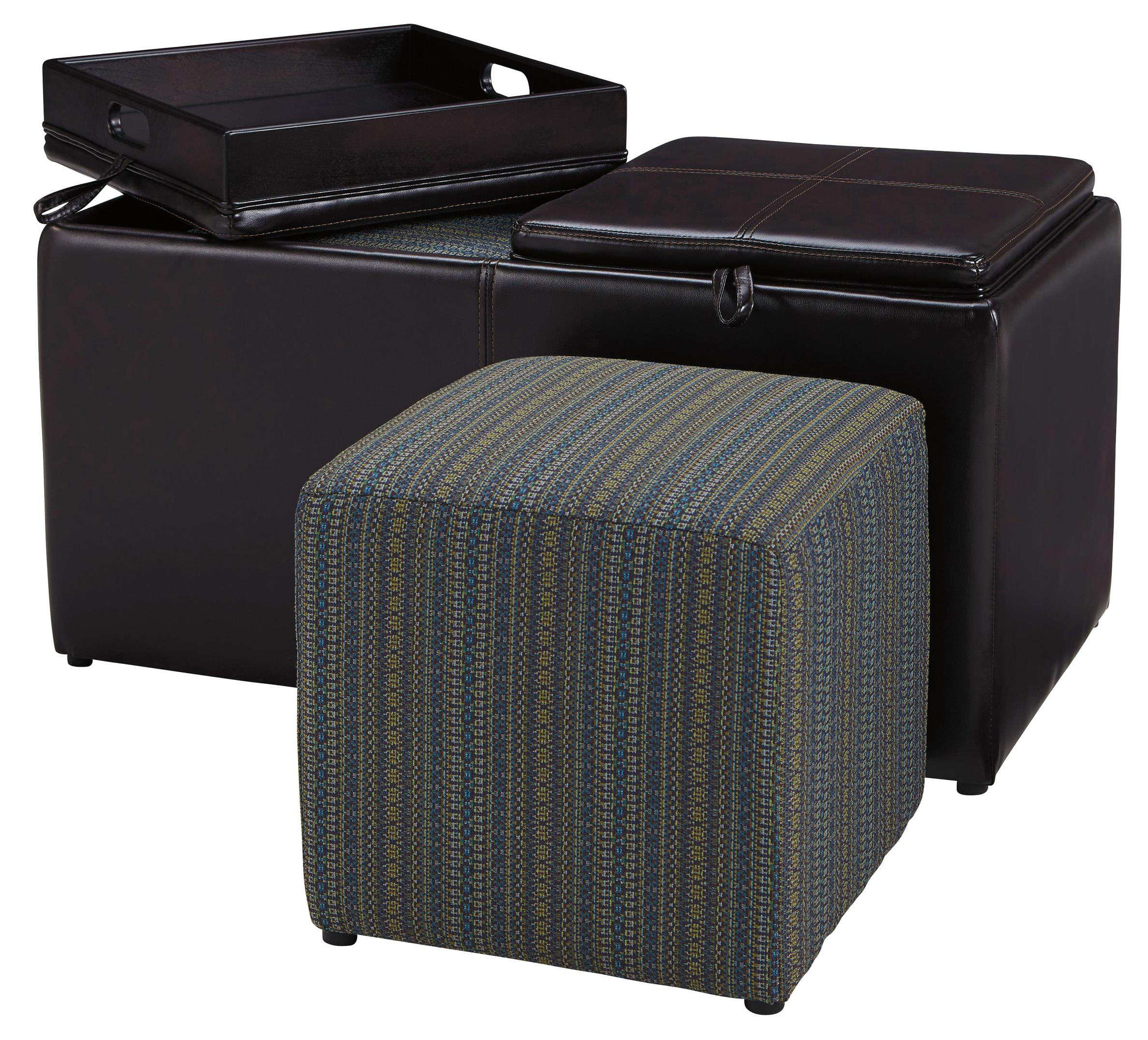 Benchcraft Casheral Ottoman With Storage - Item Number: 8290111