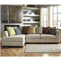 Benchcraft Casheral 2-Piece Sectional with Left Chaise - Item Number: 8290116+67