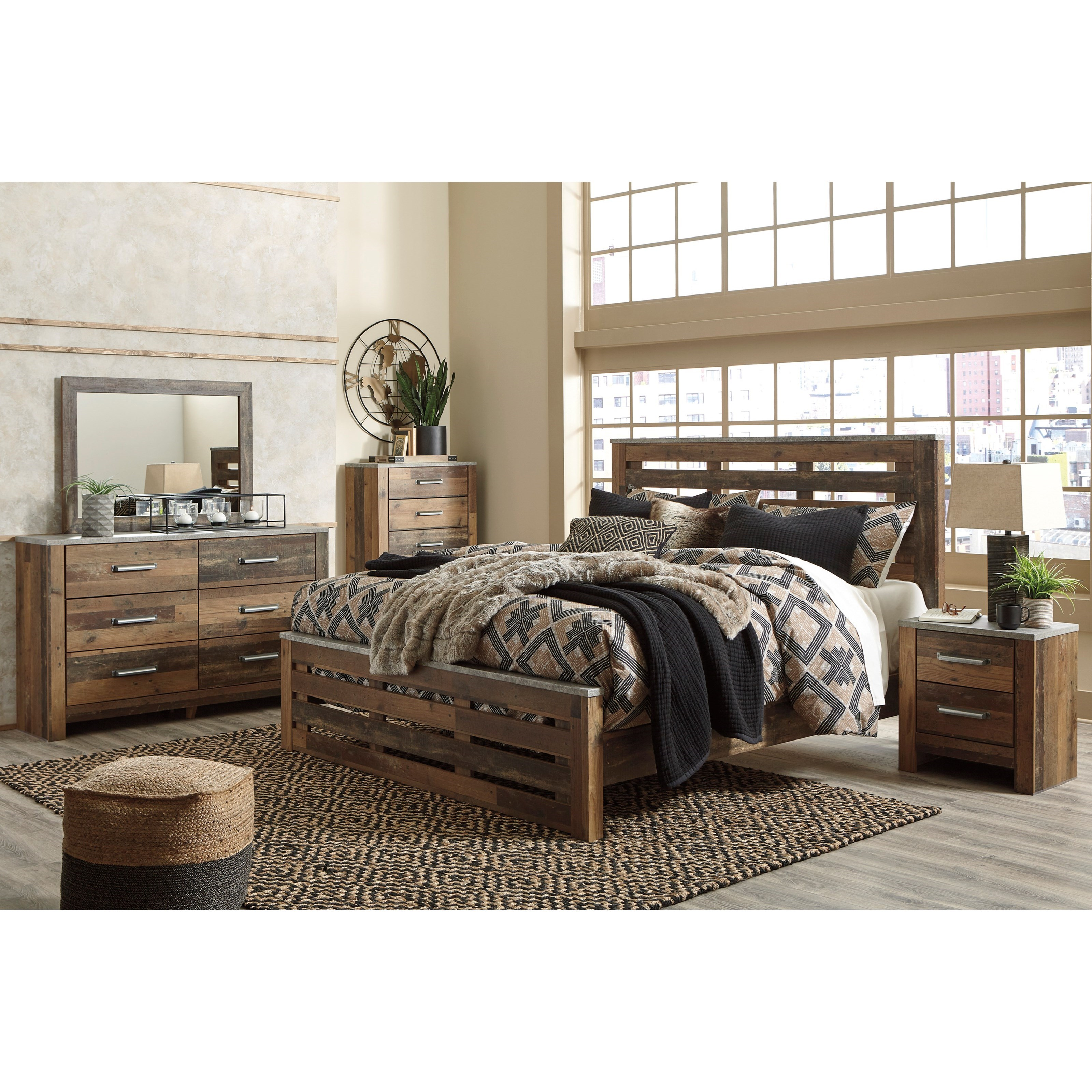 Chadbrook King Bedroom Group by Benchcraft at Miller Waldrop Furniture and Decor