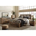 Benchcraft by Ashley Chadbrook King Bedroom Group - Item Number: B337 K Bedroom Group 3