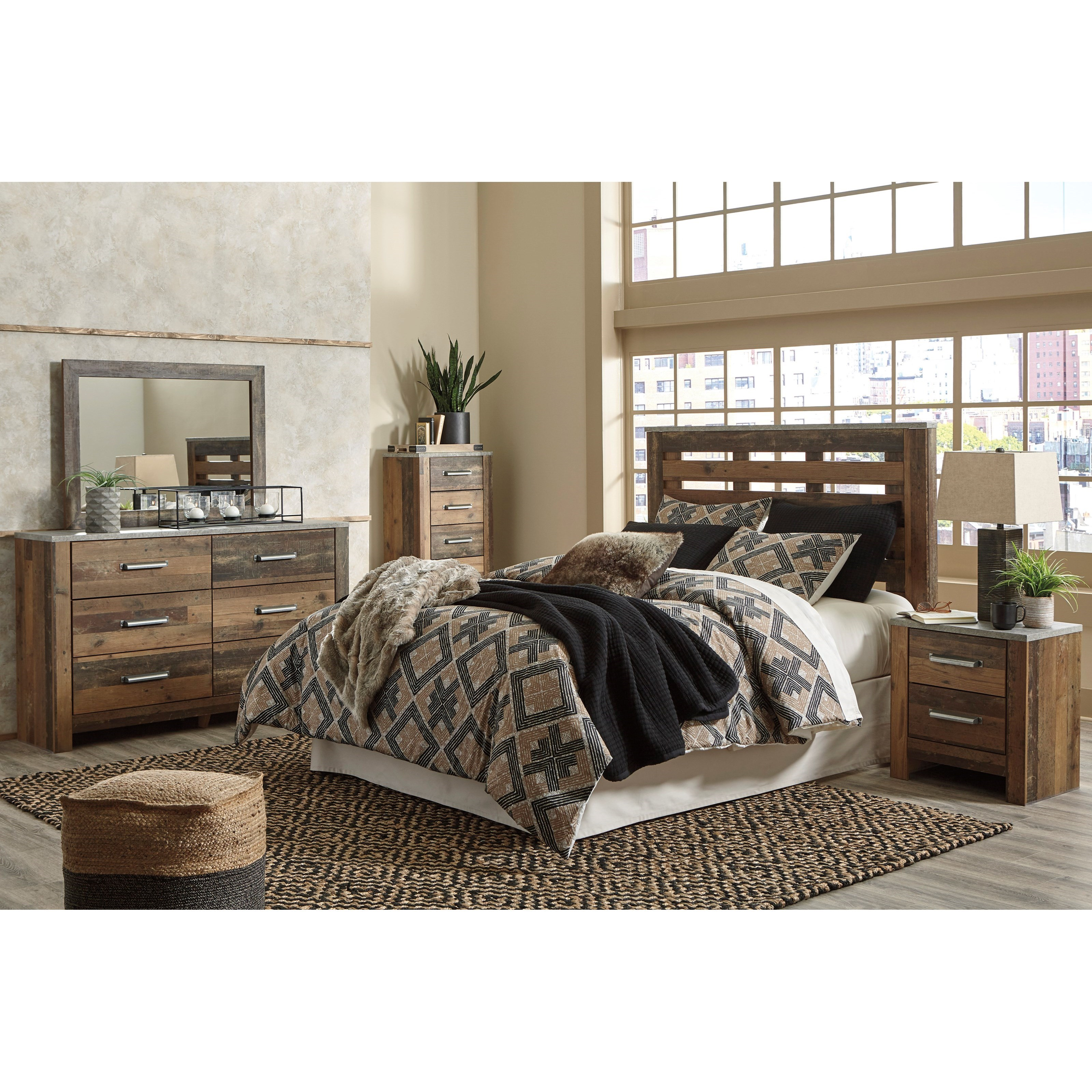 Chadbrook Queen Bedroom Group by Benchcraft at Miller Waldrop Furniture and Decor