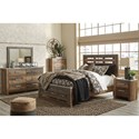 Benchcraft by Ashley Chadbrook Queen Bedroom Group - Item Number: B337 Q Bedroom Group 3
