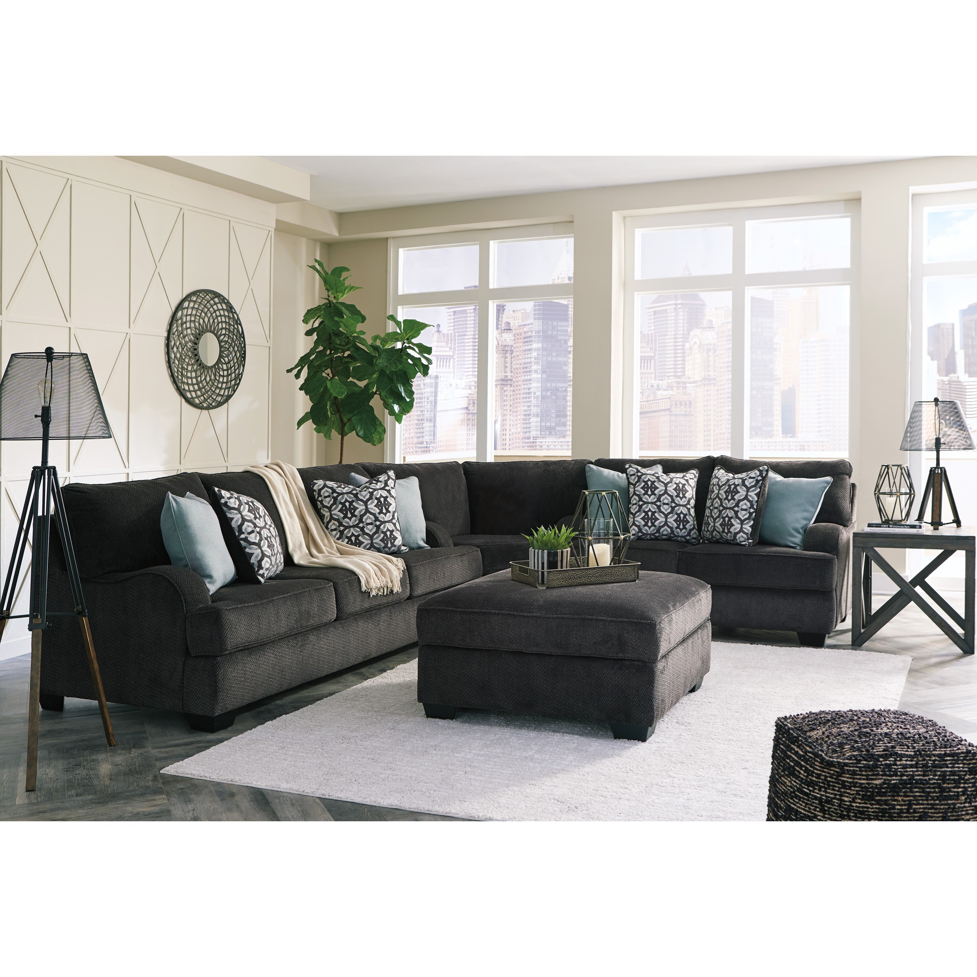 Charenton Stationary Living Room Group by Benchcraft at Standard Furniture