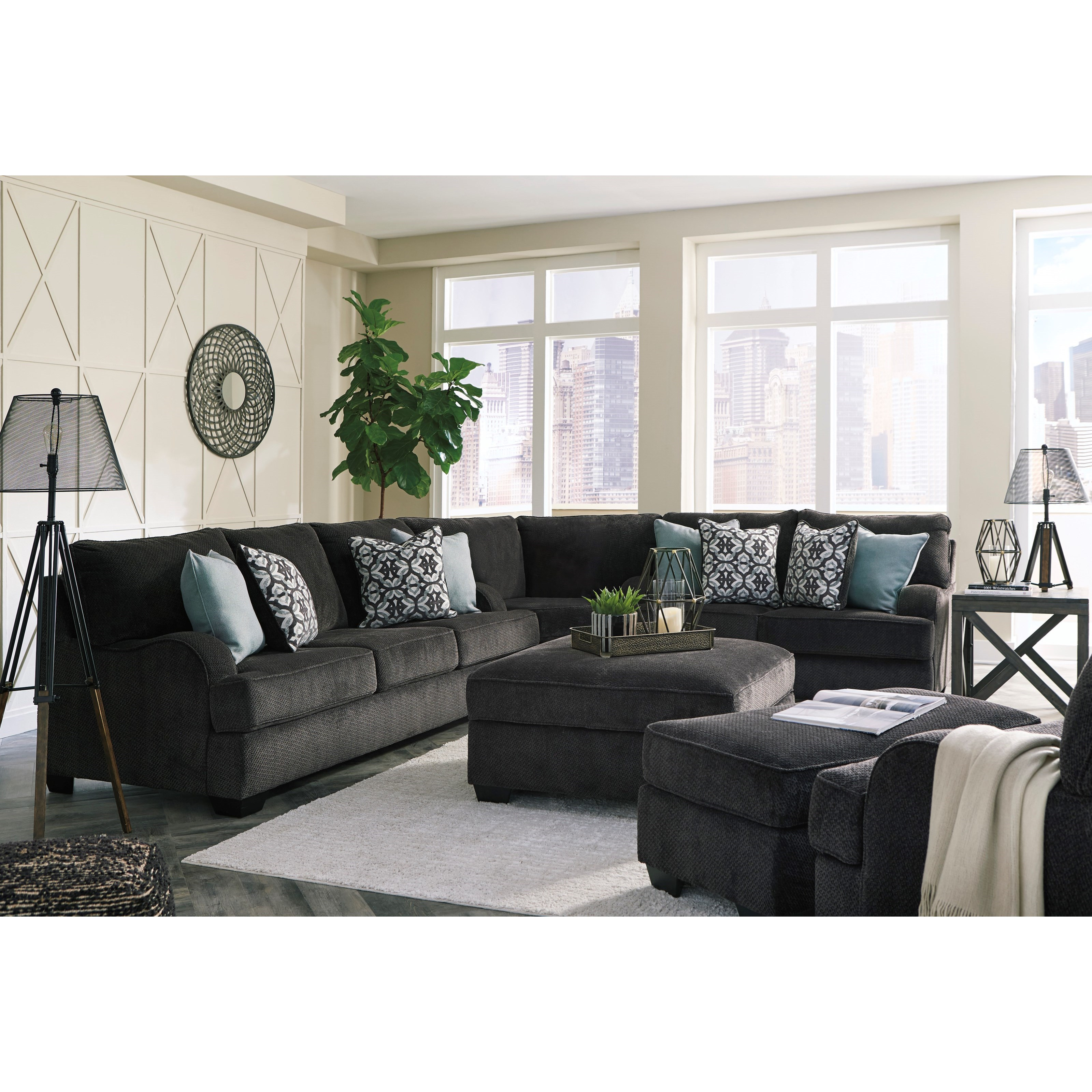 Sectional Sofas By Ashley Furniture: Signature Design By Ashley Charenton Sectional Sofa With