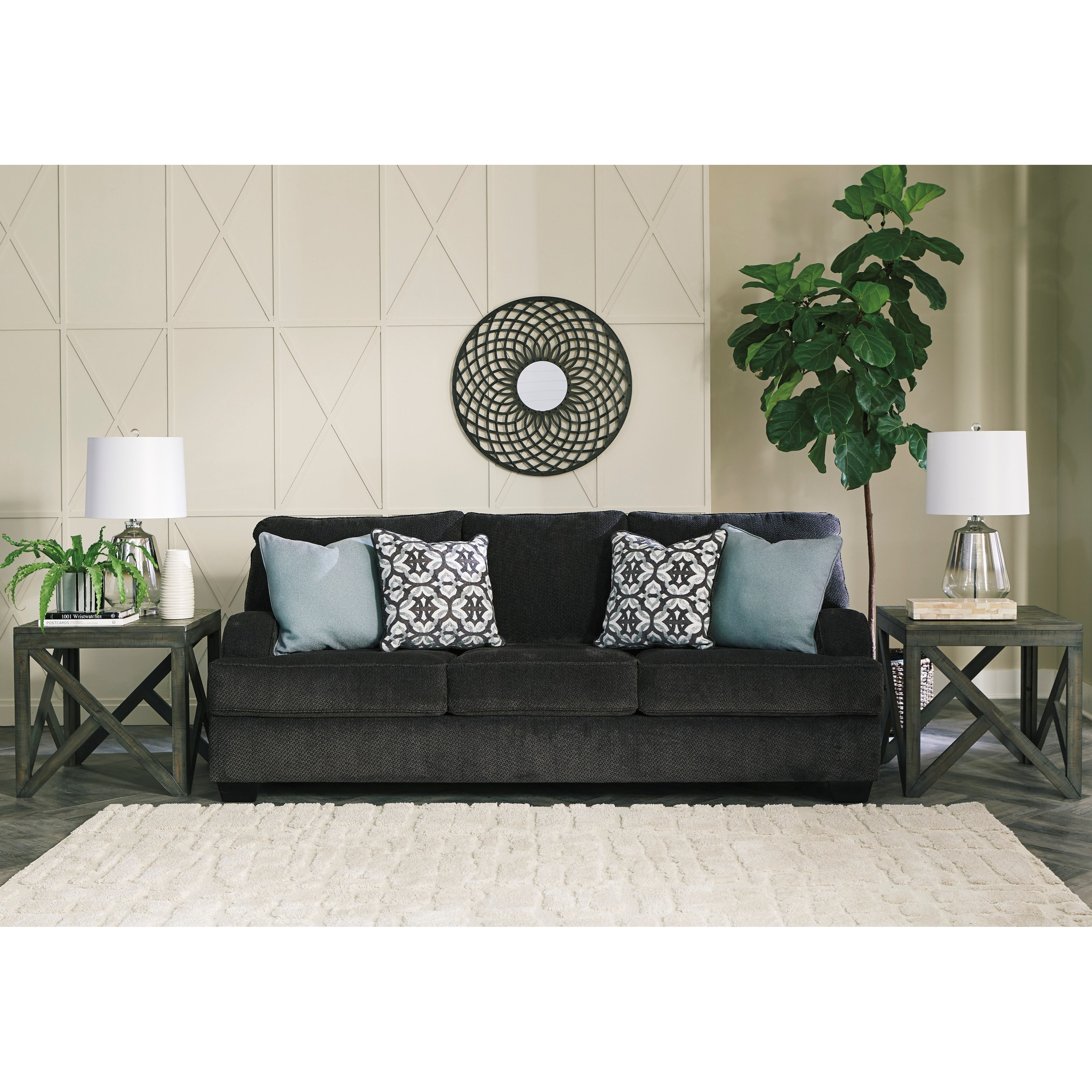Benchcraft By Ashley Charenton Queen Sofa Sleeper With