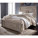 Benchcraft Charmyn Relaxed Vintage Queen Panel Bed