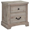 Benchcraft Charmyn 2 Drawer Night Stand - Item Number: B722-92