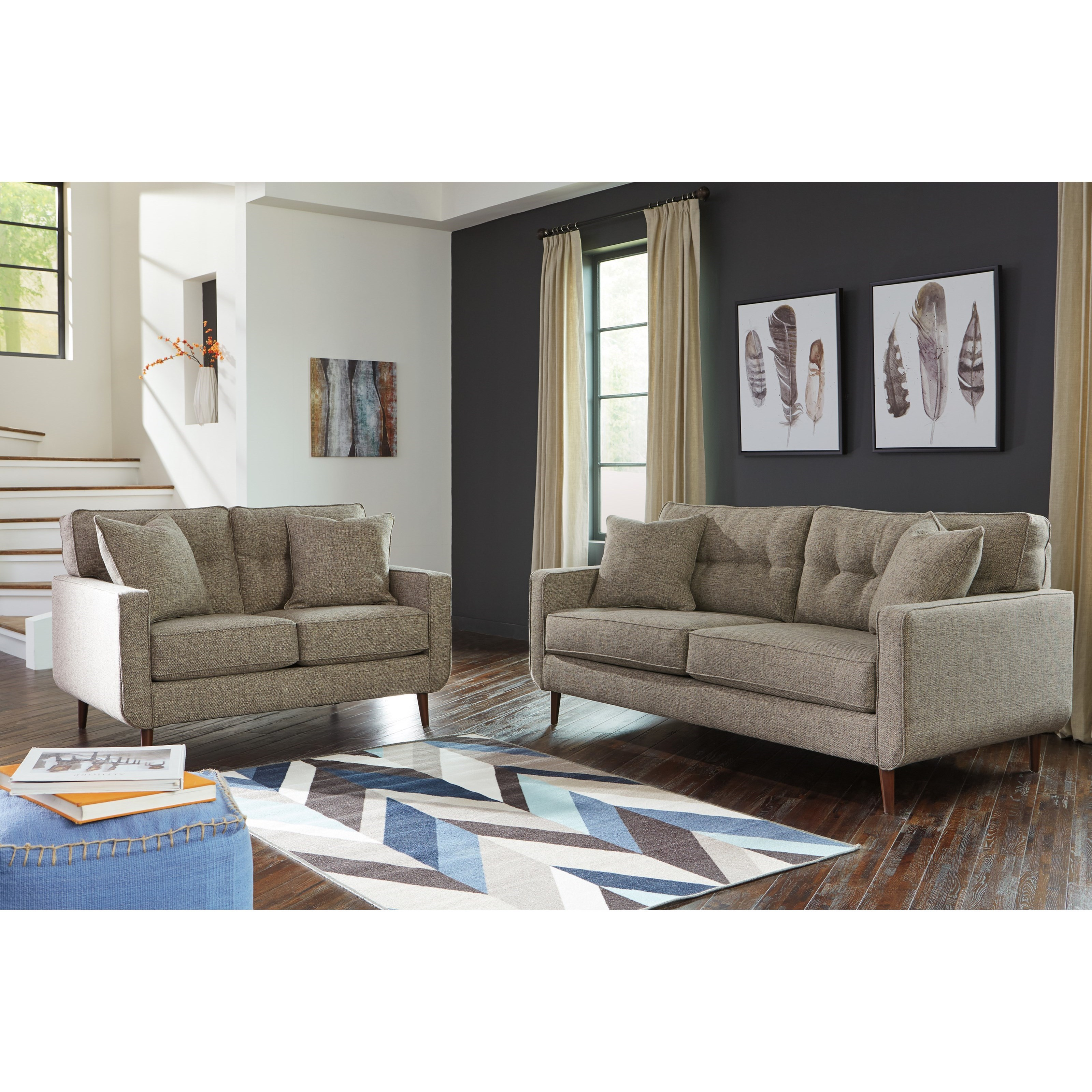 Dahra Stationary Living Room Group by Benchcraft at Miller Waldrop Furniture and Decor