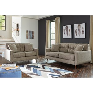 Benchcraft Chento Stationary Living Room Group