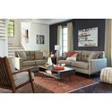 Benchcraft Dahra Stationary Living Room Group - Item Number: 62802 Living Room Group 3