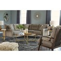 Benchcraft Dahra Stationary Living Room Group - Item Number: 62802 Living Room Group 6
