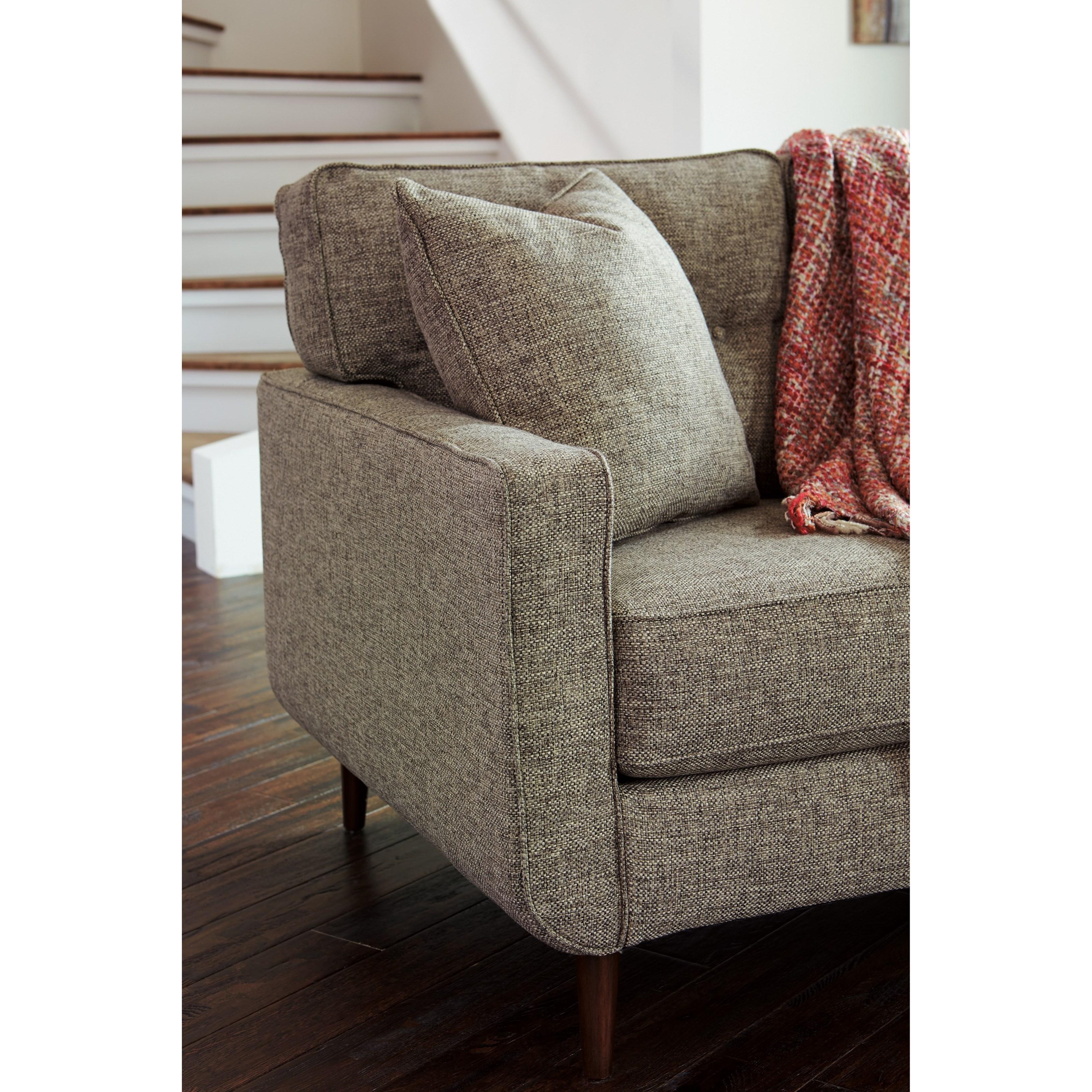 Benchcraft By Ashley Dahra Mid Century Modern Sofa A1