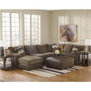 Ashley Cladio - Hickory Stationary Living Room Group