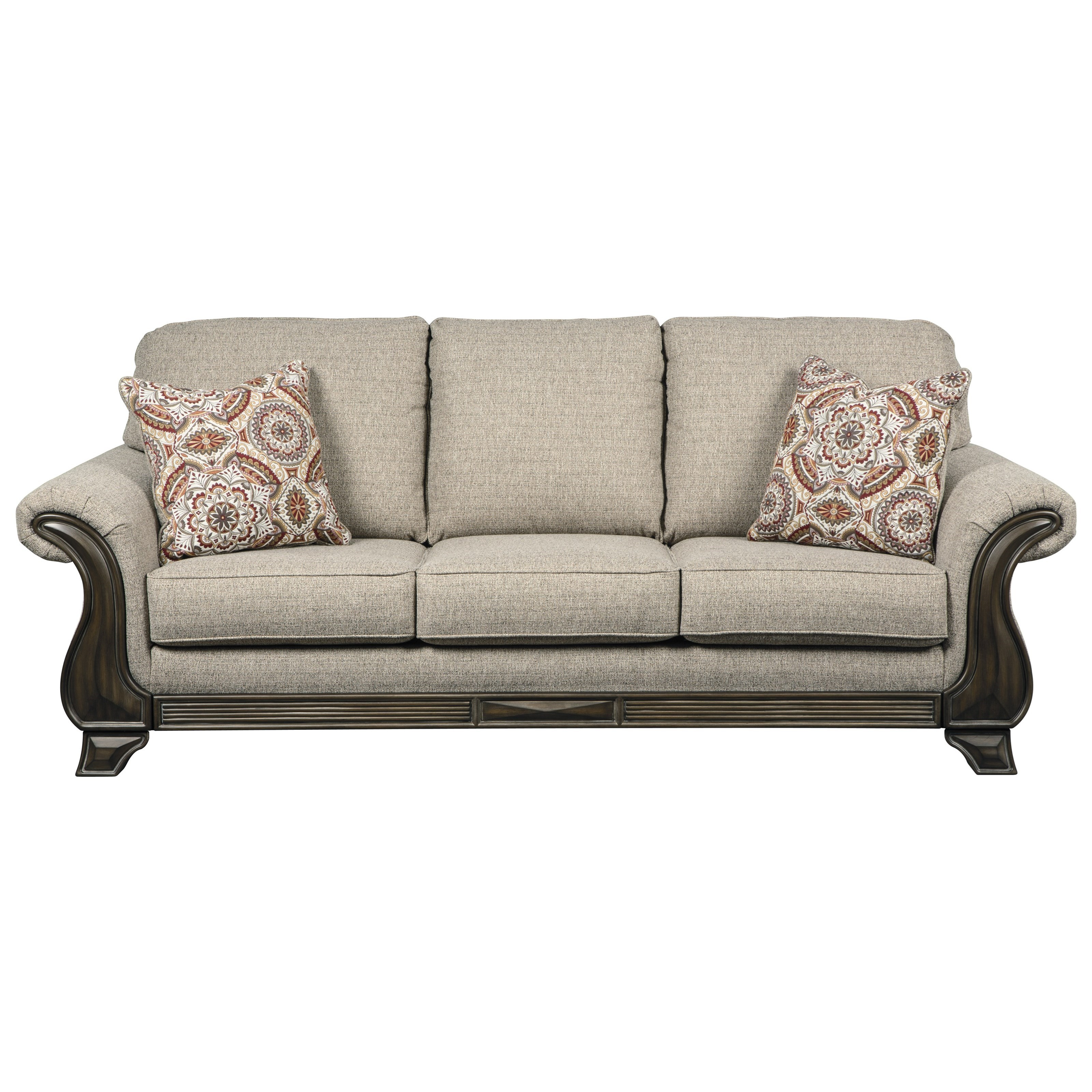 Benchcraft by Ashley Claremorris Sofa with Traditional Style | Royal ...