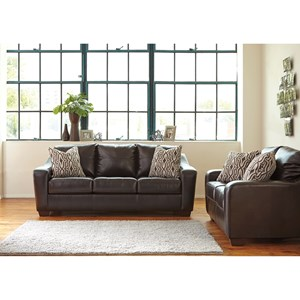 Ashley Coppell DuraBlend® Stationary Living Room Group