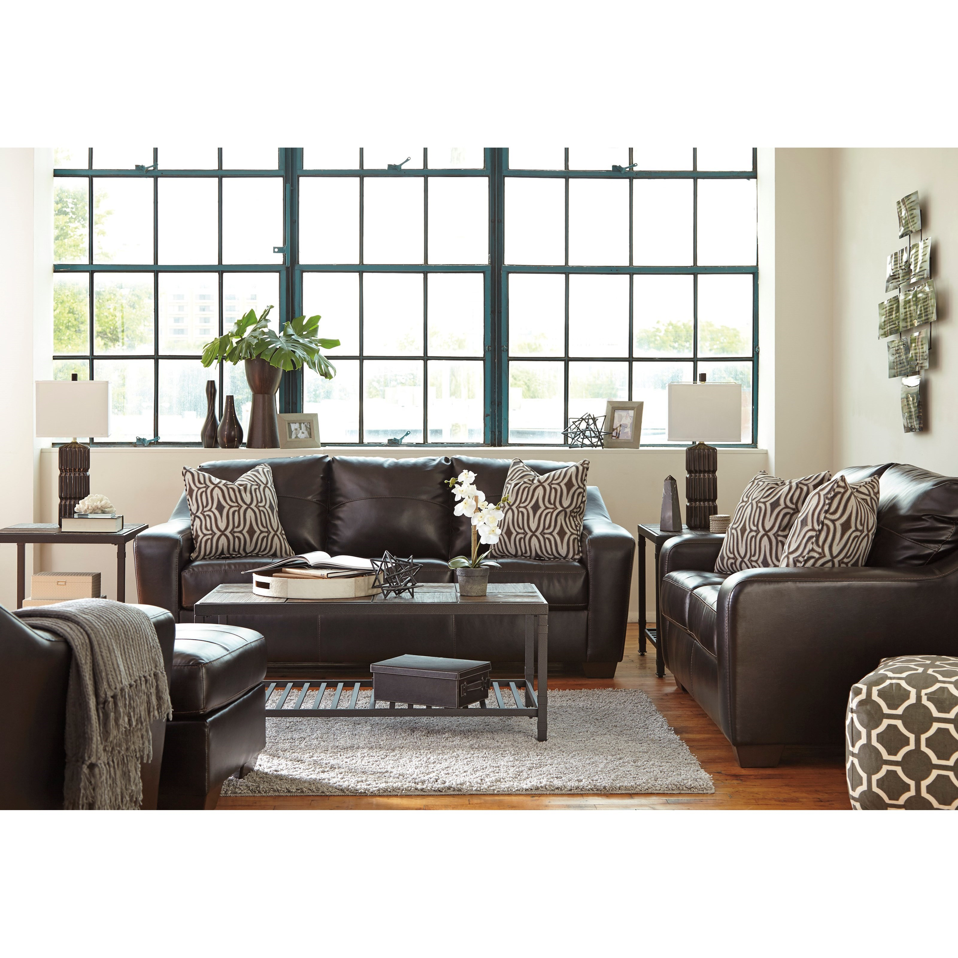 Benchcraft Coppell DuraBlend® Stationary Living Room Group - Item Number: 59001 Living Room Group 2