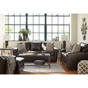 Ashley Coppell DuraBlend® Stationary Living Room Group - Item Number: 59001 Living Room Group 2