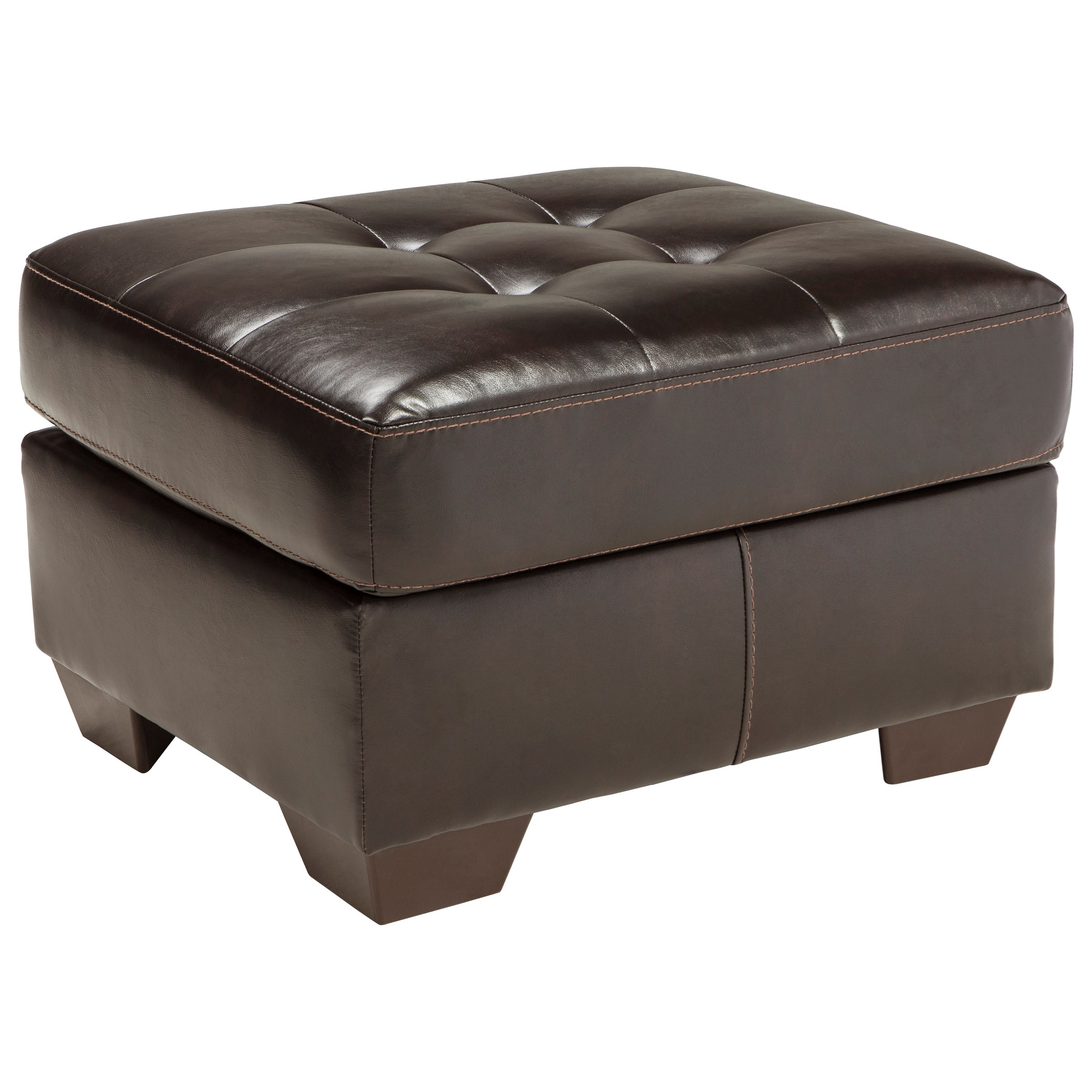 Benchcraft Coppell DuraBlend® Ottoman - Item Number: 5900114